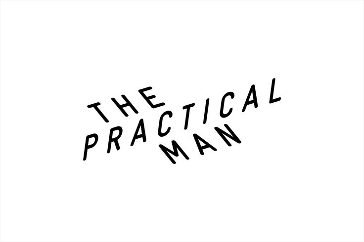 Logotype for online sports and fashion retailer The Practical Man by Australian…
