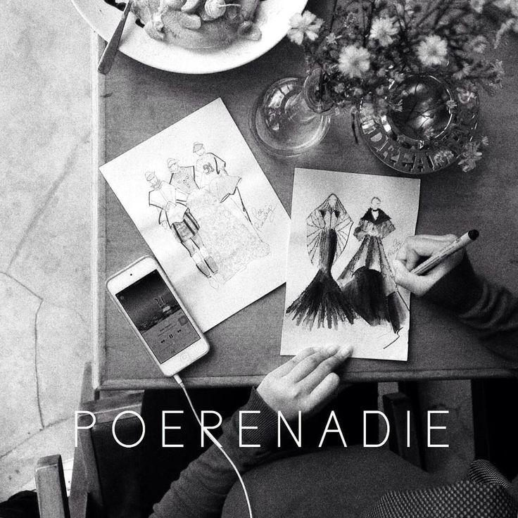 """We crafted everything that hurt us into ART."" – Jenim Dibie • • #novembermood #fashionillustration"