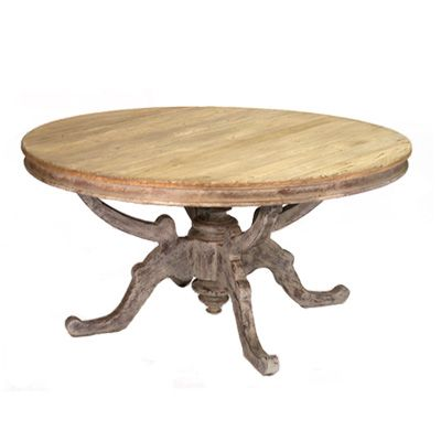 26 best images about french country on pinterest harvest for Rustic round kitchen table