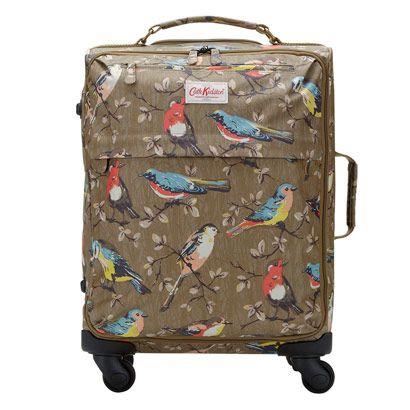 Garden Birds Small Wheeled Suitcase