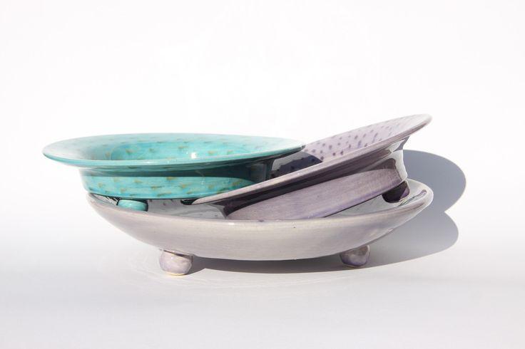 BALL by CaCo handmade in Portugal, Galerias Lumiere, Rua José Falcão, Porto Portugal, Shop online www.cacostore.com #pottery #handmade #blue #violet