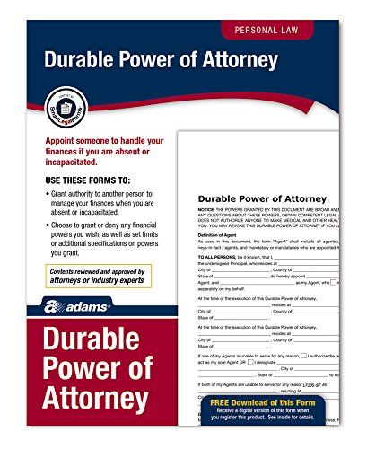 25+ beste ideeën over Power of attorney op Pinterest - Organiseren - durable power of attorney form