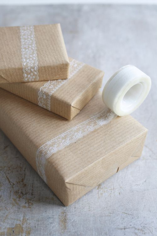 decorative tape!! great for gift wrapping!
