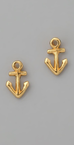 Anchor Earrings. $35