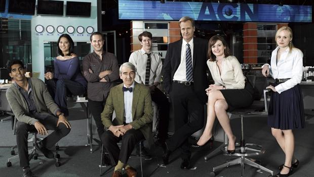 Aaron Sorkin's new show has a terrific cast.  News Room #HBO