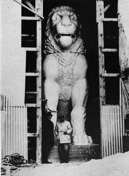 This magnificent Lion was originally located on the top of the Great Tomb at Amphipolis