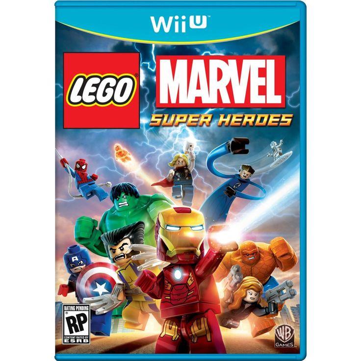 LEGO: Marvel Super Heroes Wii U Physical Game Disc US