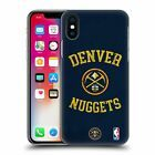 OFFIZIELLE NBA 2019/20 DENVER NUGGETS HARD BACK CASE FÜR APPLE iPHONE PHONES   – Apple