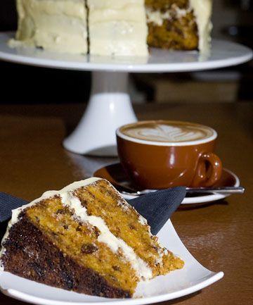 Amazing gluten-free carrot cake.