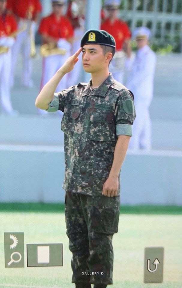Exo S Do Has Completed His Basic Military Training To Serve As An Active Duty Soldier Soon 20 Photos Basic Military Training Military Training Exo