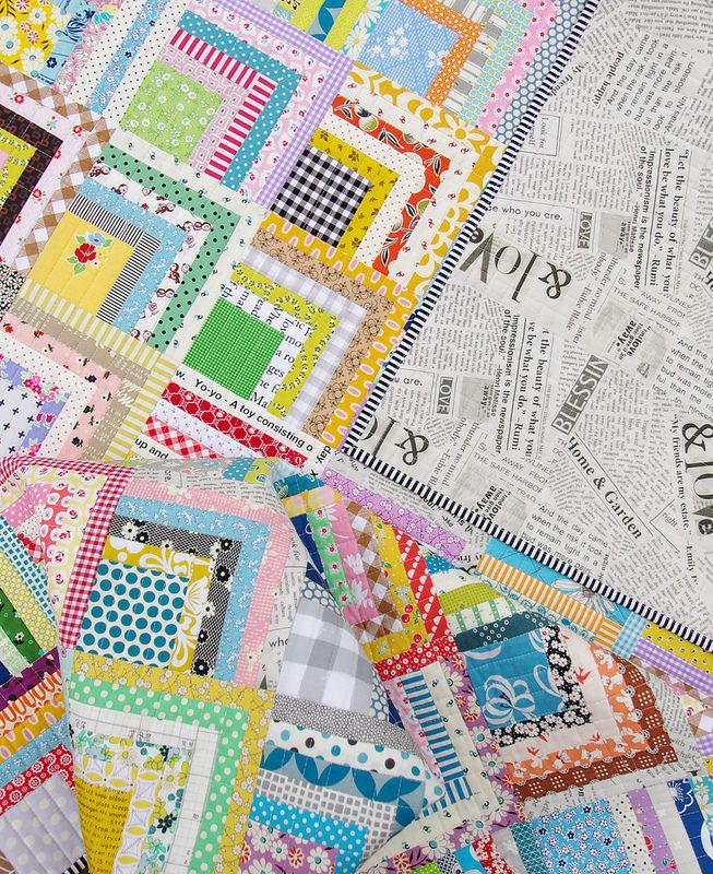 Log Cabin Quilts Images
