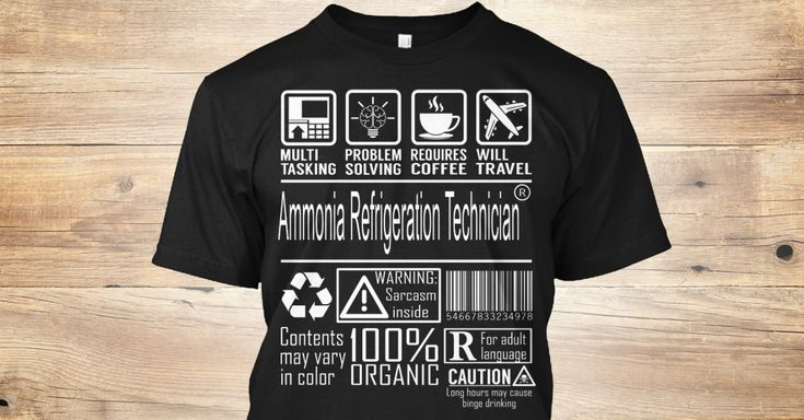 Discover Ammonia Refrigeration Technician T-Shirt, a custom product made just for you by Teespring. With world-class production and customer support, your satisfaction is guaranteed. - Multitasking Problem Solving Requires Caffeine...