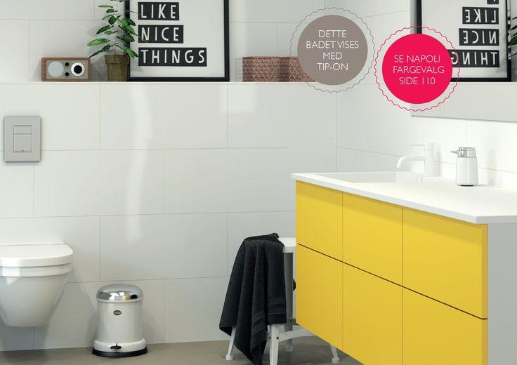 Monter: INFÅSPLIERKAKSEJORN Kjøkken - Bad - Vaskerom - Garderobe Plass