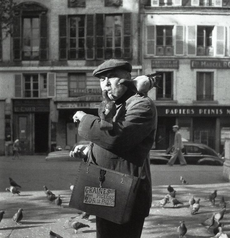 Paris 1955 Photo: Robert Doisneau