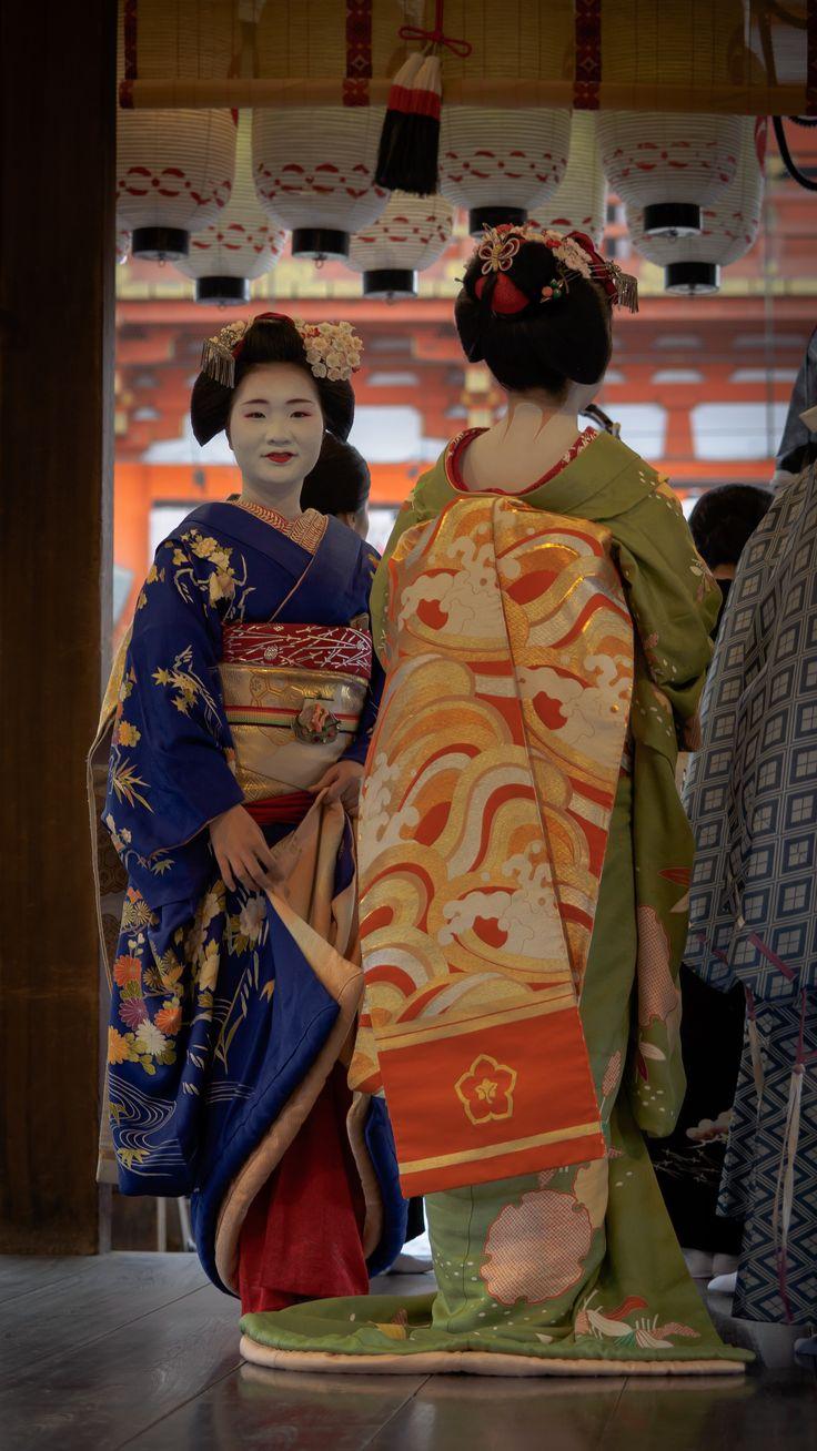 舞妓 maiko 市照 ichiteru 多香 taka 先斗町 節分祭 KYOTO JAPAN