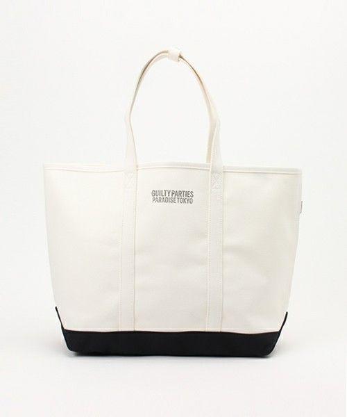 B印 YOSHIDA(×PORTER)のWACKO MARIA×PORTER / キャンバストートバッグ Mです。こちらの商品はBEAMS Online Shopにて通販購入可能です。