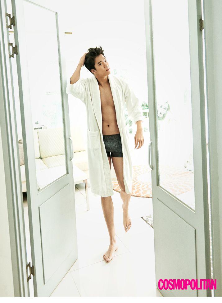 Ha Suk Jin - Cosmopolitan Magazine October Issue '15