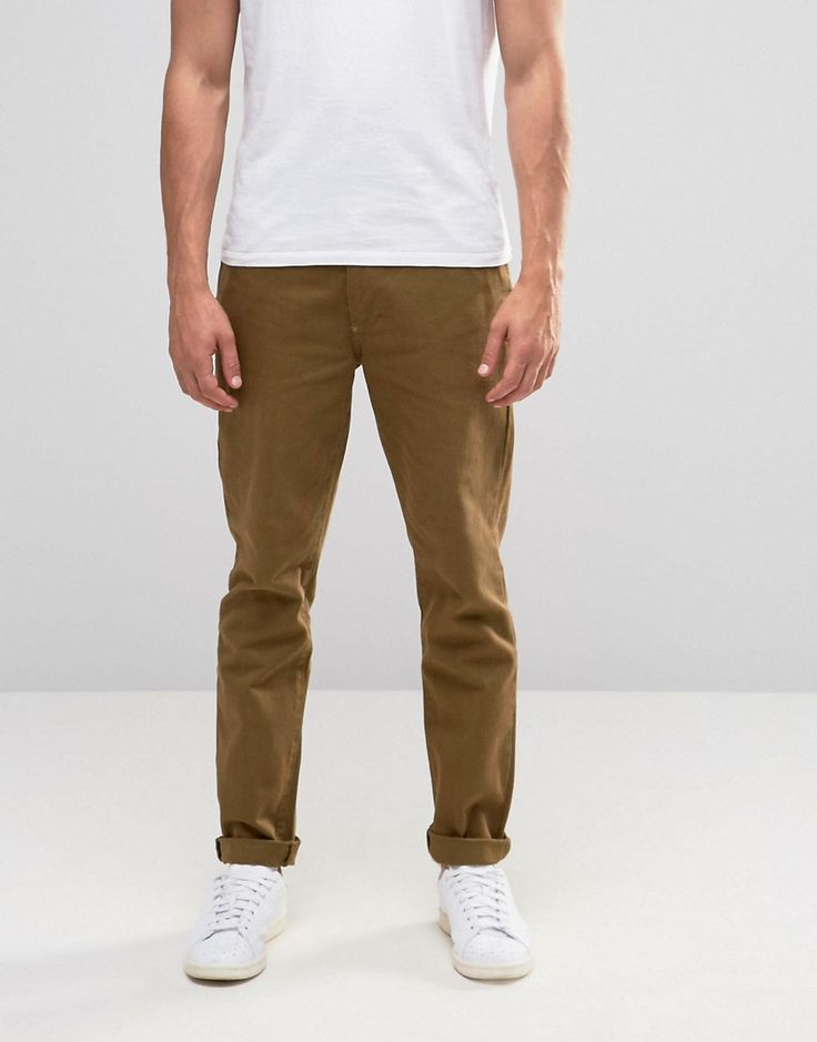 Get this Asos's straight trousers now! Click for more details. Worldwide shipping. ASOS Straight 5 Pocket Trouser In Stone Heavy Twill - Stone: Trousers by ASOS, Cotton twill, Concealed fly, Five pockets, Straight fit - cut with a straight leg, Machine wash, 100% Cotton, Our model wears a W 32 L 32 and is 185.5cm/6'1 tall. ASOS menswear shuts down the new season with the latest trends and the coolest products, designed in London and sold across the world. Update your go-to garms with the new…