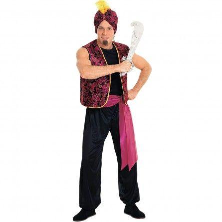 Arabian Sultan Mens Costume