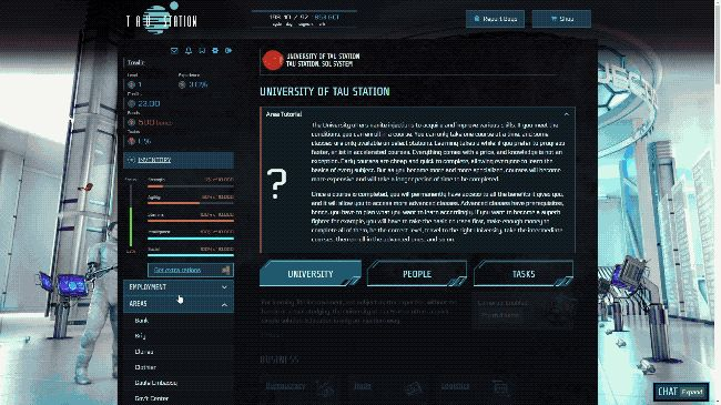 Tau Station is a lore-rich text-based Sci-Fi massively multiplayer RPG set 189 years since humanity was almost wiped out by an unknown entity.  https://www.alphabetagamer.com/tau-station-open-beta/ #indiegames #gaming #games #videogames
