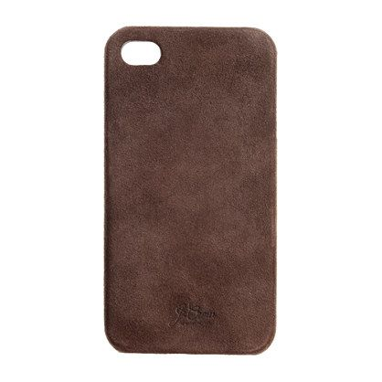 Suede iPhone 4 case.  I know it's technically designed for guys but I love it!