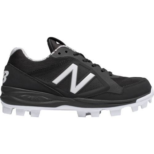 New Balance Men\u0027s Tupelo Low-Cut Molded Baseball Cleats (Grey/White, Size  13) - Adult Baseball Shoes at Academy Sports