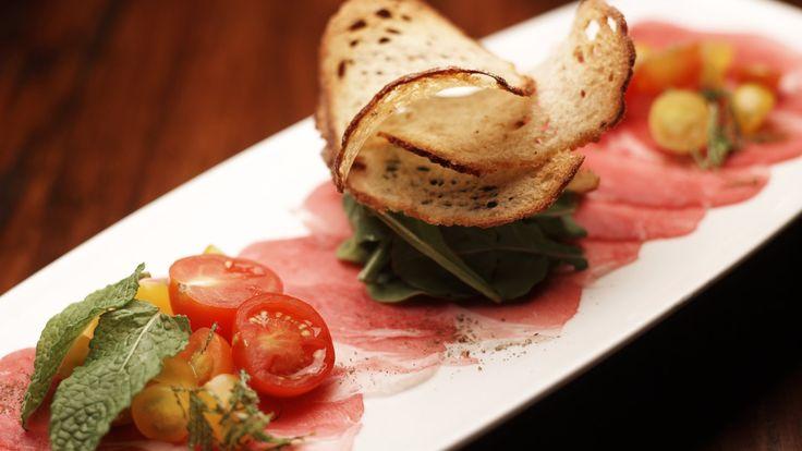 cool Trellis Restaurant Lamb Carpaccio HD