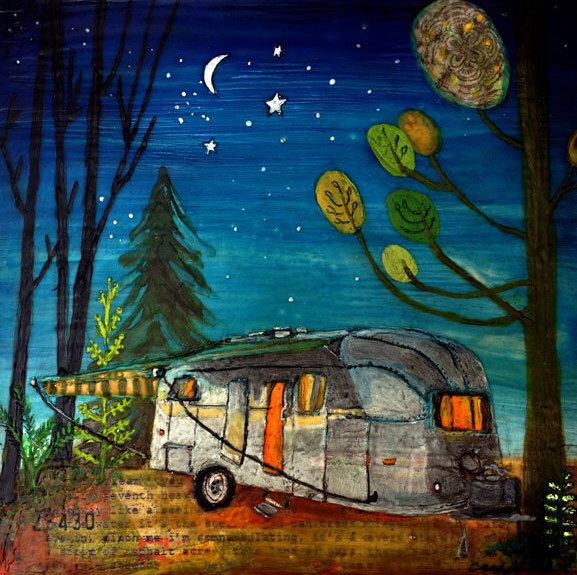 Airstream Camper by cathynichols on Etsy https://www.etsy.com/listing/235080038/airstream-camper