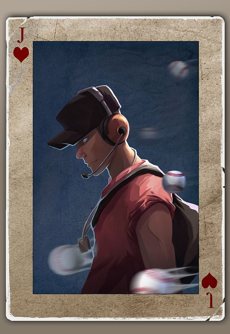 TF2 Poker scout by biggreenpepper on DeviantArt