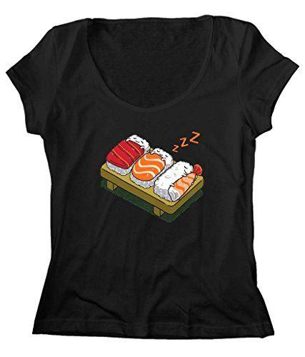Women's Scoop Neck Funny Japanese Sushi T-Shirt FREE SHIP_$24.25_100% Best Cotton http://www.amazon.com/dp/B016K5ITOC/ref=cm_sw_r_pi_dp_xWbvxb13KVG5E