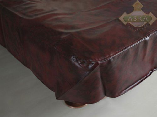 "Heavy Duty Billiard Tabe Cover 8ft Burgundy by aska billiards. $49.59. 8 ft Burgundy High-End Billiard Pool Table Cover. Premium quality water proof pool table cover. Perfect fit for your table. Dimensions 56"" x 100"" x 8"""