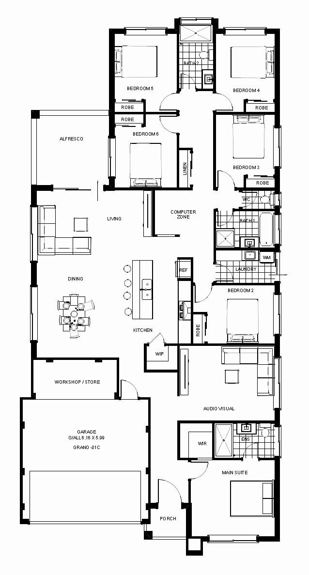 6 Bedroom House Plans Beautiful 6 Bedroom House Designs House Designs Perth Bedroom House Plans 6 Bedroom House Plans House Blueprints