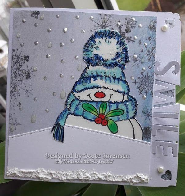 Fasters korthus: Winter snowman sister....