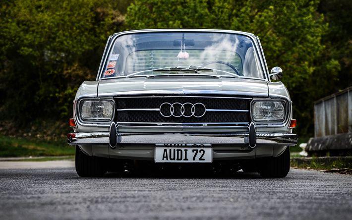 Descargar fondos de pantalla Audi 100, 4k, tuning, low rider, los coches alemanes, el Audi F103
