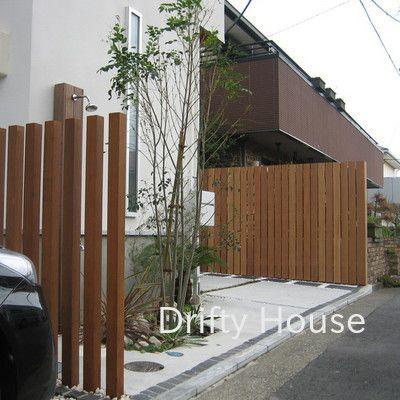 神奈川県茅ヶ崎市S様邸エクステリア施工例/スリットフェンス-1
