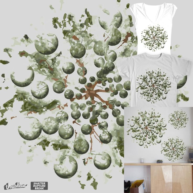 Bursting on Threadless