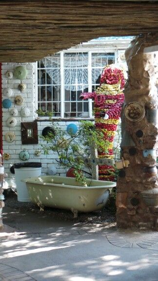 Old bath/ water feature in Cullinan @ JanHarmsgat