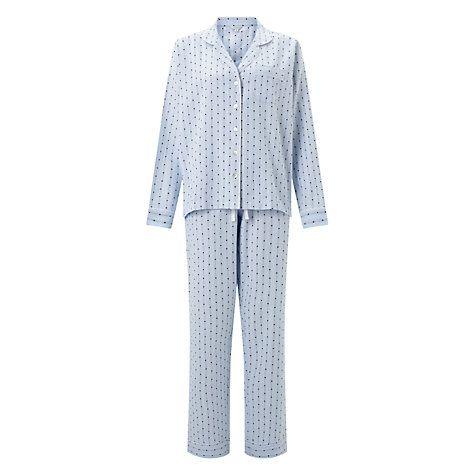 Buy Jigsaw Florence Cotton Blend Pyjamas Online at johnlewis.com