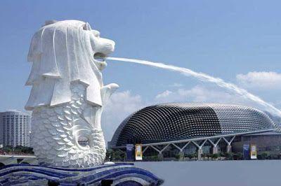 Merlion el Simbolo de Singapur