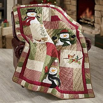 Snowman quilt...OH MY GOODNESS, I love this quilt!