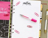 "A5 planner insert printable - notes (measures 5.8""x8.3"")"