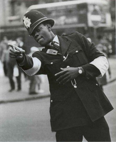 PC Gumps • London's first black policeman • Sept. 1968