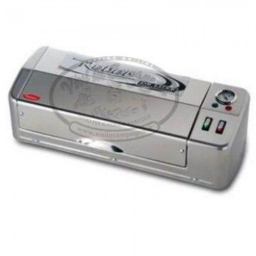 www.viviincampagna.it - Deluxe inox #professional di #Reber è la macchina professionale per #conservare sottovuoto