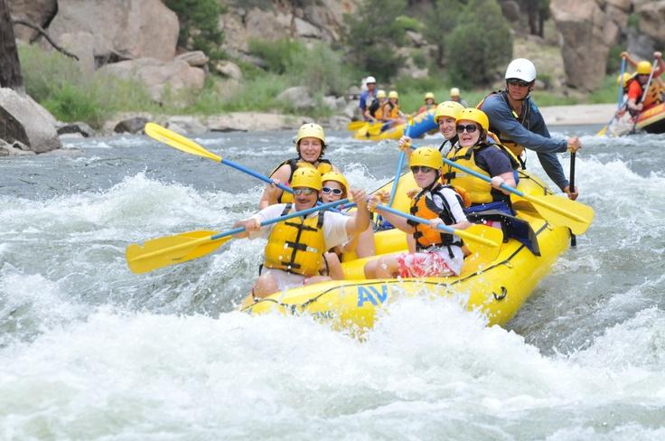 White Water Rafting Colorado 2010