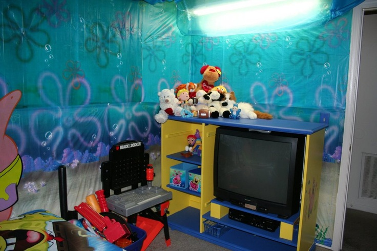 29 Best Images About Spongebob Bedroom On Pinterest