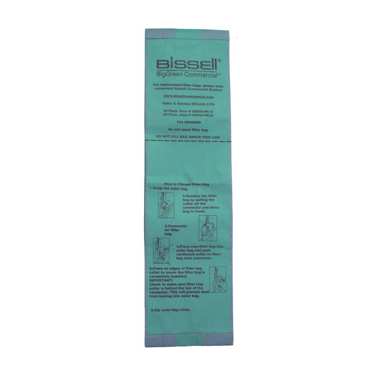 Bissell Vacuum Cleaner Bags for BGU8000 UPright