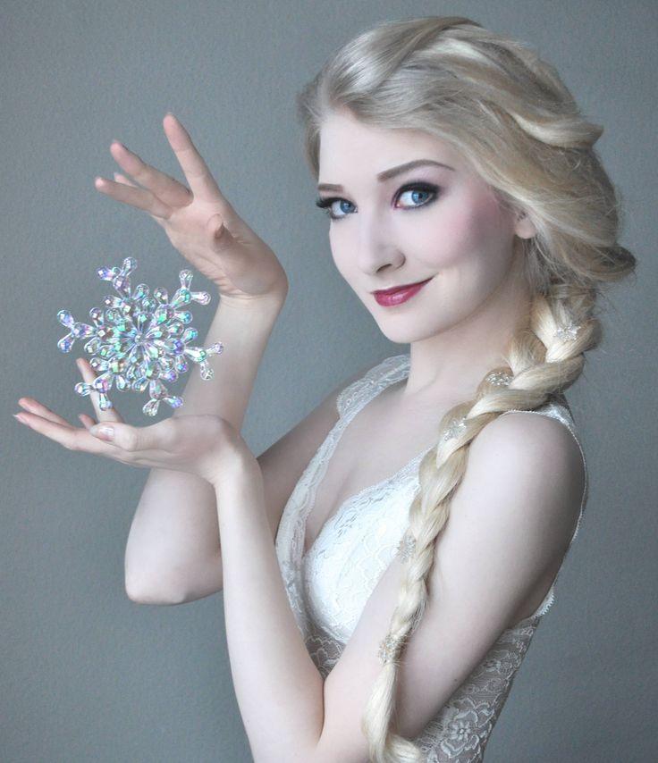 Elsa from Disney's Frozen cosplay