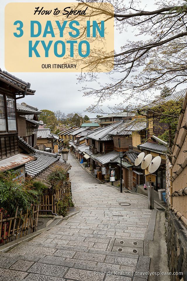 travelyesplease.com | How to Spend 3 Days in Kyoto- Our Itinerary | Kyoto, Japan