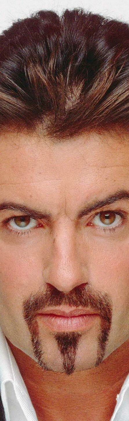 George Michael...gorgeous eyes & sexy look