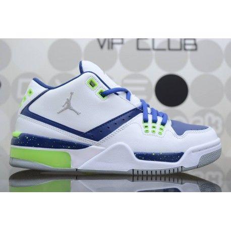Air Jordan Bianche E Blu